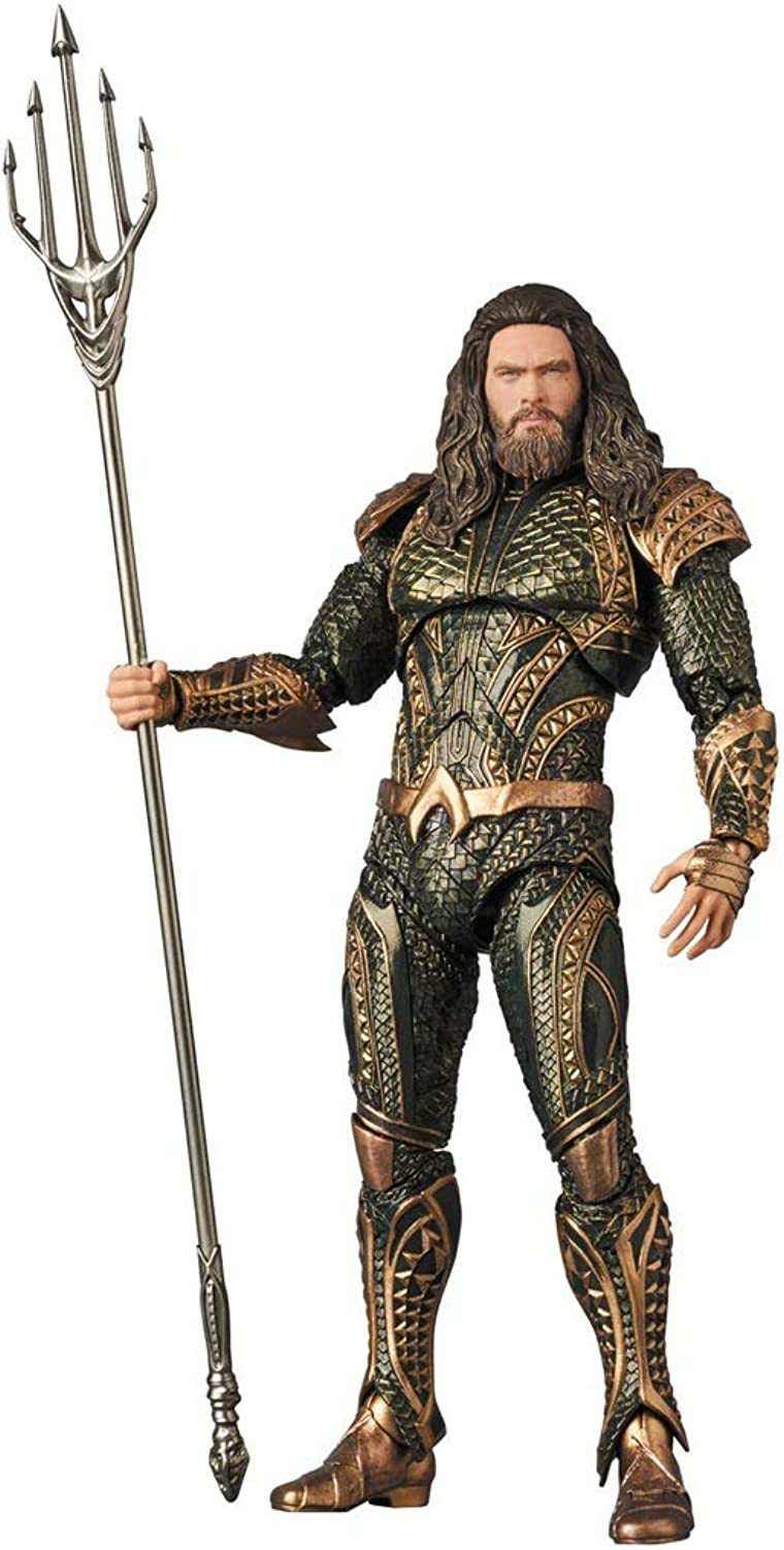 Aquaman Maf Ex Figure Approximately 160 Mm ABS & PVC Painted Action Figure
