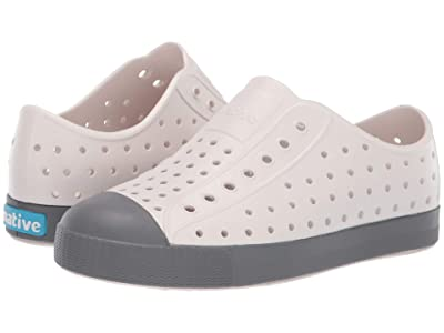 Native Kids Shoes Jefferson (Little Kid/Big Kid) (Cloud Grey/Dublin Grey) Kid