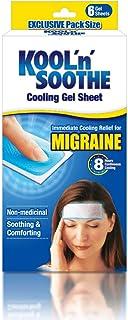 KOOL'n'Soothe Migraine 6 Gel Sheets