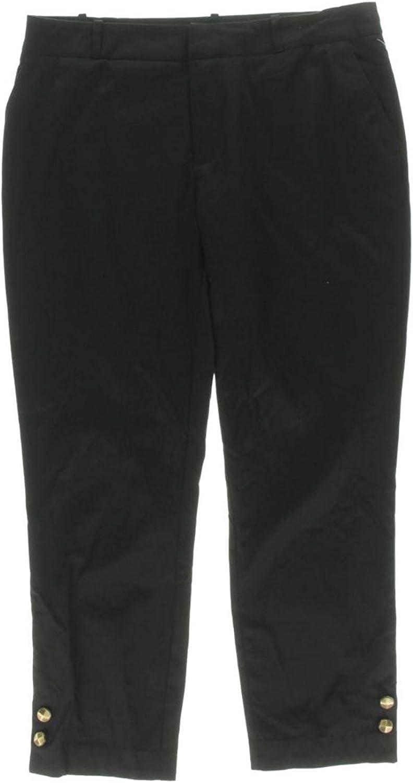 Rachel Rachel Roy Womens Ankle Embellished Dress Pants Black 8
