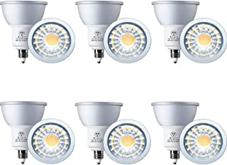 Drart LED電球 E11 ハロゲン電球 65W相当 7W LED スポットライト 調光対応 省エネ PSE認証 電球色 (6個セット)