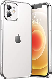 UGREEN Clear Case Compatible with iPhone 12 Sleek Texture Slim Shockproof Bumper Case with Soft TPU Protective Phone Cover...