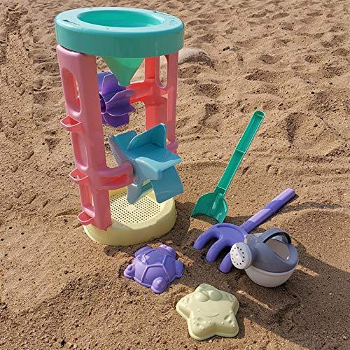 Zzlush Educational Spielzeug Kinder Lernen Kinder Strand Sandspielzeug Set Sommer Große Sanduhr Spielzeug, Kinderspielhaus Spielzeug Sanduhr, Strandwerkzeug Sanduhr Set (Color : Hourglass)