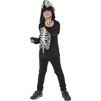 My Other Me Me-203891 Disfraz de esqueleto casual, unisex, 7-9 ...