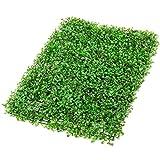 VEVOR Hierba Artificial Verde de 24 Piezas 61 x 40,6cm, Panel de Boj de Hiedra Artificial de Alta Densidad contra UV y 100% PE, Plantas Artificiales Decorativas para Pared, Jardines, Patio Trasero
