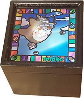 totoro stained glass