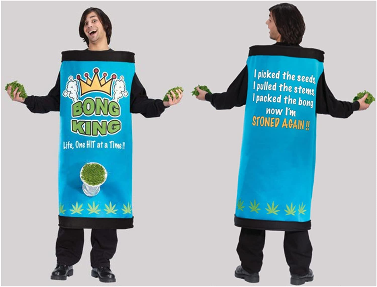 Fun World Bong King Men's Adult Halloween Costume One Size Fits Most  5451
