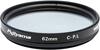 Fujiyama 62mm Circular Polarizing Filter for Fujifilm XF 90mm F2 R LM WR Made in Japan