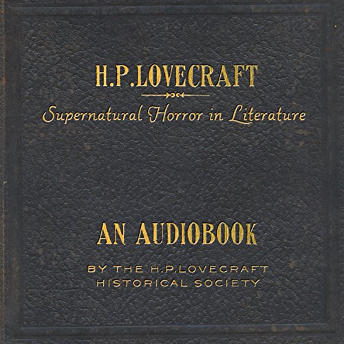 Supernatural Horror in Literature audiobook cover art