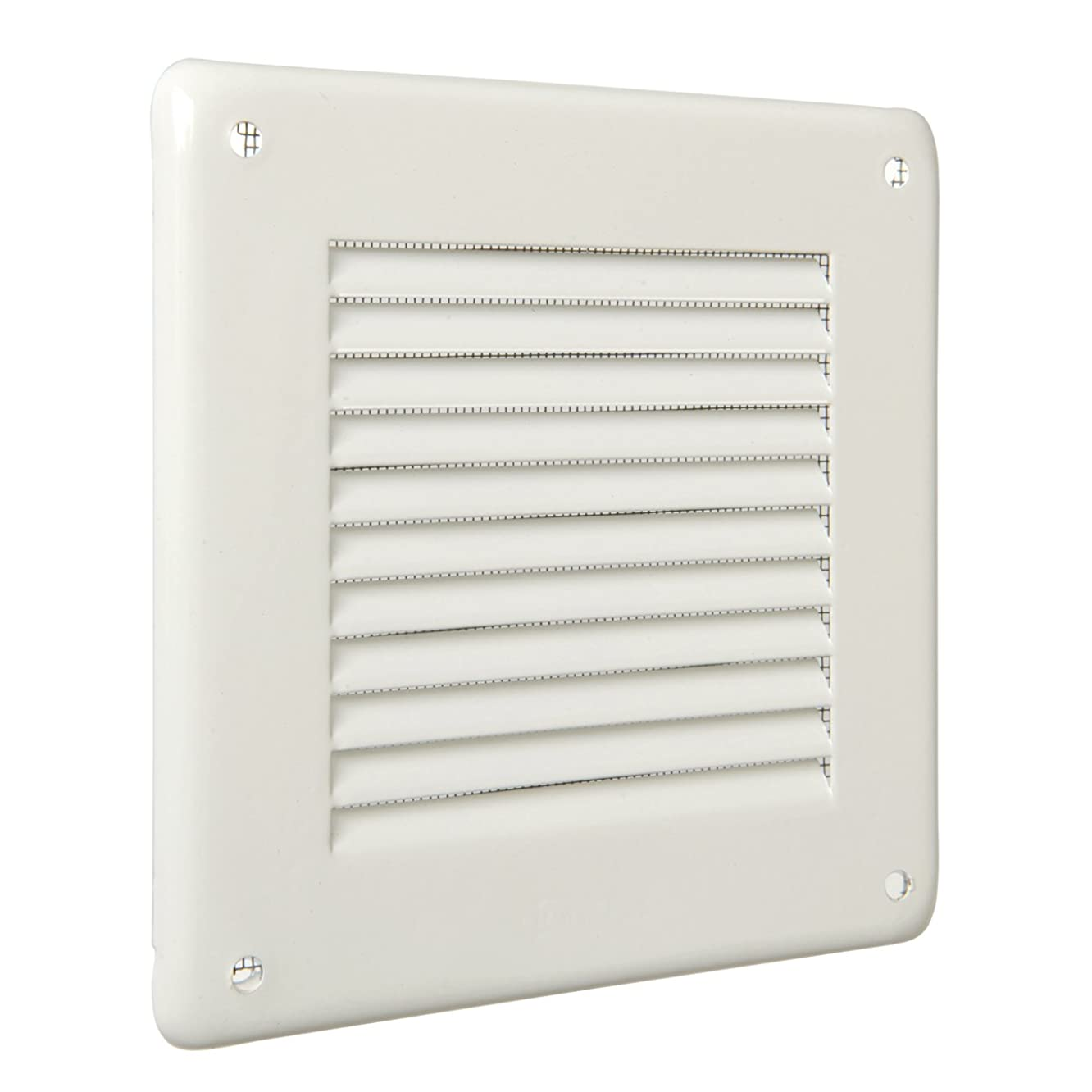 The gl10rb-y Ventilation Grill Superimposed Quadra, White