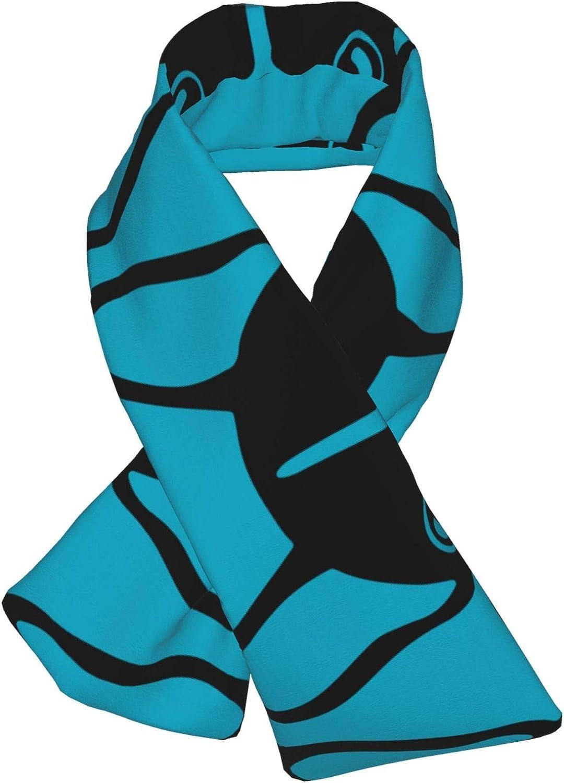 Winter Scarfs French Bulldog Scarves Wraps Neck Warmer Flannel Winter Cross Tie Scarves