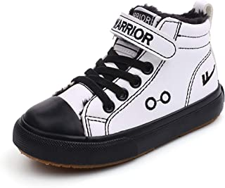 Fuze Baby Girl Shoes Children High Top Sneaker Boy Pu Leather Shoes