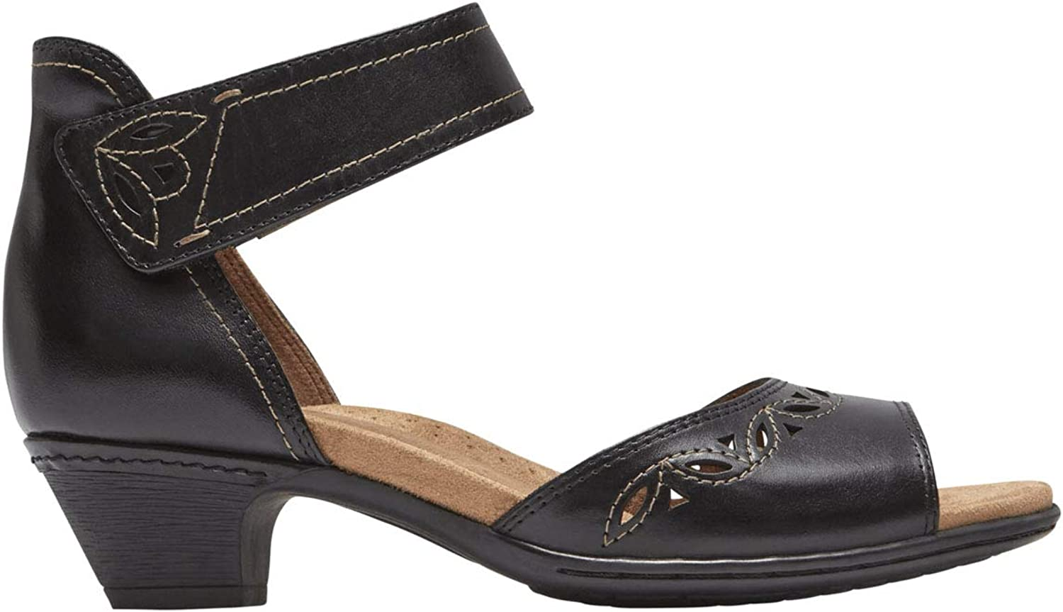Rockport Cobb Hill Collection Womens Cobb Hill Abbott Two-Piece Ankle Strap