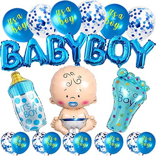 Decorazioni Shower ragazzo,striscioni per Baby Shower,Baby Shower Decorazioni,Bambino...