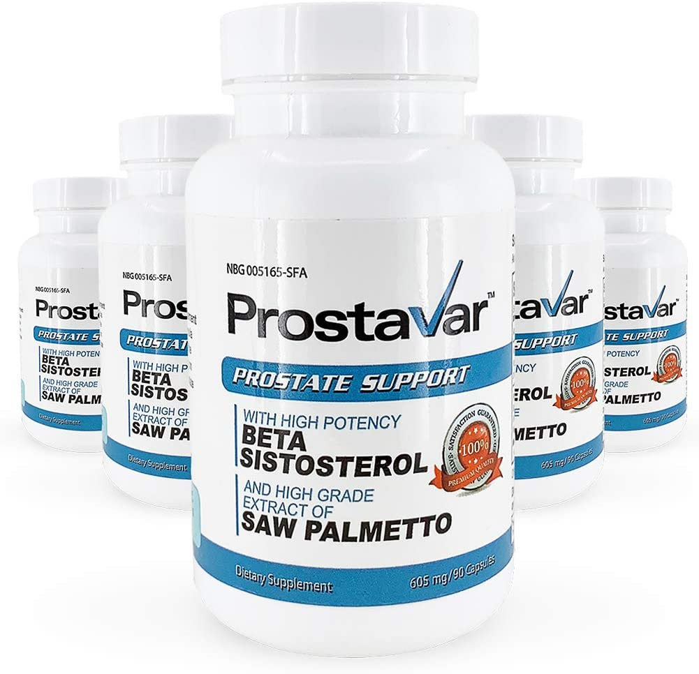 Prostavar Prostate Support with Saw Palmetto Bottles - Direct stock discount 5 Year-end gift