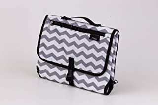 Portable Changing Station Pad | Perfect for Newborn Baby | Diaper Clutch | Best Lightweight Travel Waterproof Organizer Kit