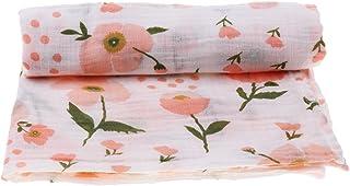 120 120cm Bambus Baumwolle Puckt/ücher Musselin Tuch Musselintuch Pucktuch Erstlingsdecke Duschtuch Handtuch Rose
