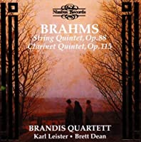 Brahms: String Quintet in F major, Op. 88; Clarinet Quintet in B minor, Op. 115 (1997-08-26)