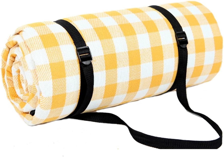 TMY Picknick-Matte Fashion Plaid Streifen im Freien tragbare Pad feuchtigkeitsfeste feuchtigkeitsfeste feuchtigkeitsfeste wasserdichte Matte faltbare leichte Matte für Picknick Camping Trekking (Farbe   B, Größe   200200CM) B07DC4DYS2  Neuartiges Design 6608d4