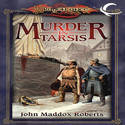 Murder in Tarsis audiobook cover art
