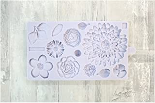 Buttercream Flowers Mold by Karen Davies