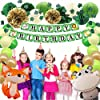 Premium 62PCS Jungle Theme Birthday Party Decorations with Banner, Greenery Garland, Lantern, Pom Poms, Animal Balloons, Cake Toppers, Party Supplies for Boy Girl #4