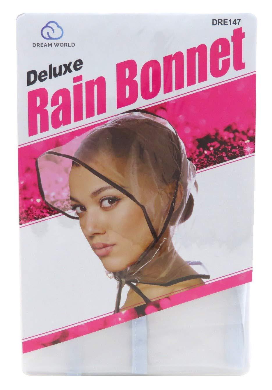 Dream Rain Bonnet Plastic #0147 (Pack of 12) #0147