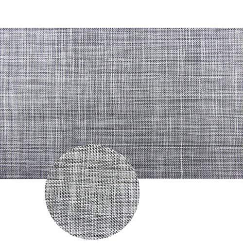 1PCS Einfarbiges PVCTischset Leicht zu reinigen Esstischmatte Scheibenpolster Isolieruntersetzer Wasserdichtes Tischtuchbeständiges Pad