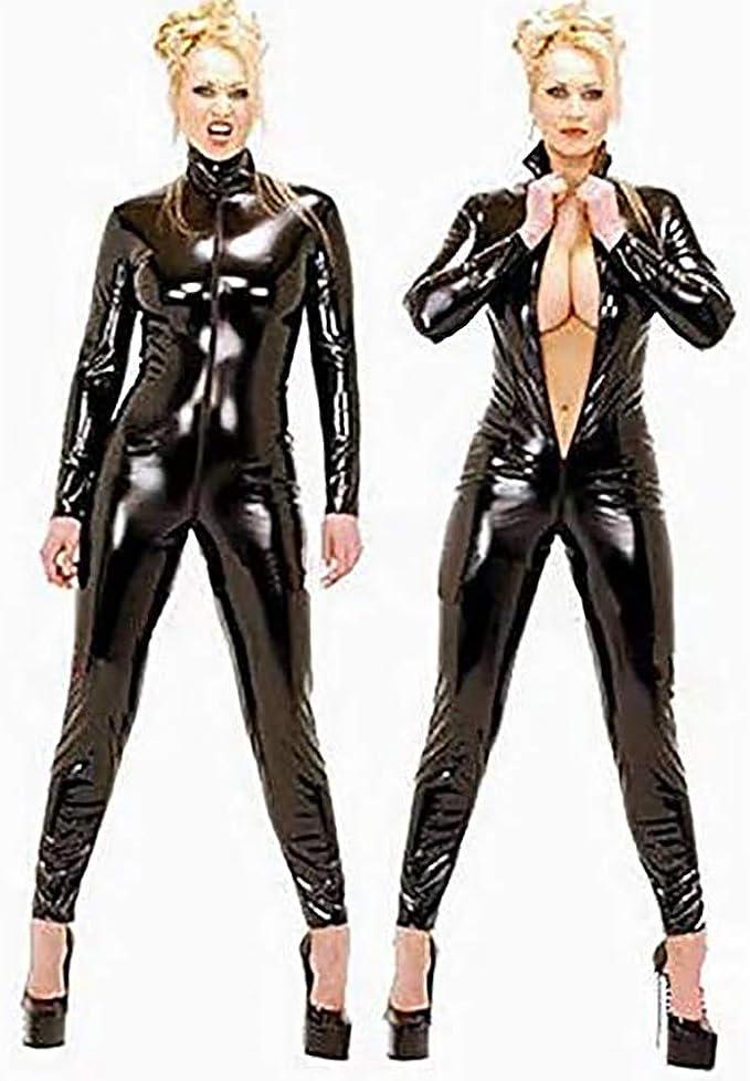 Catsuit girl latex latex clothing