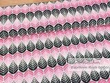 Mamasliebchen Jersey-Stoff shapeleaves #Black-bonbon (0,5m)