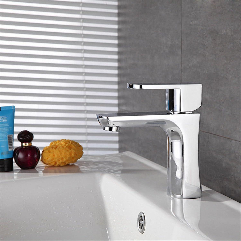 Lalaky Waschtischarmaturen Wasserhahn Waschbecken Spültisch Küchenarmatur Spültischarmatur Spülbecken Mischbatterie Waschtischarmatur Kupfer-Einlochmontage-Handlift