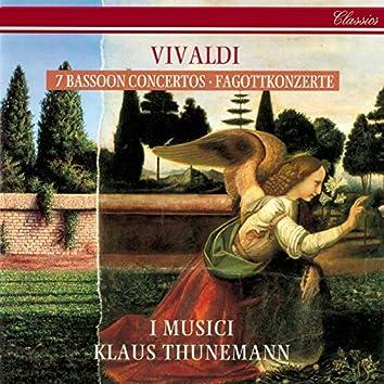 Vivaldi: 7 Bassoon Concertos