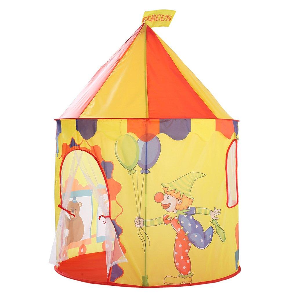 non-brand Carpa Plegable Tienda de Campaña Infantil Casa de Juego en Forma de Castillo/Tigre/Tren/Coches para Niños - #2: Amazon.es: Juguetes y juegos