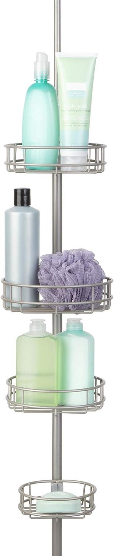 Richards Homewares Circulo Corner Tension 返品交換不可 送料込 C Bath Shower Pole and