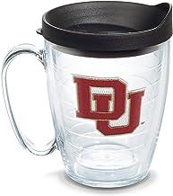 مج فردي مع غطاء من Tervis، 473 مل, Denver Univ, 16oz Mug