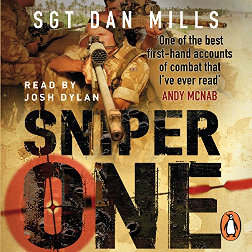 Sniper One audiobook cover art