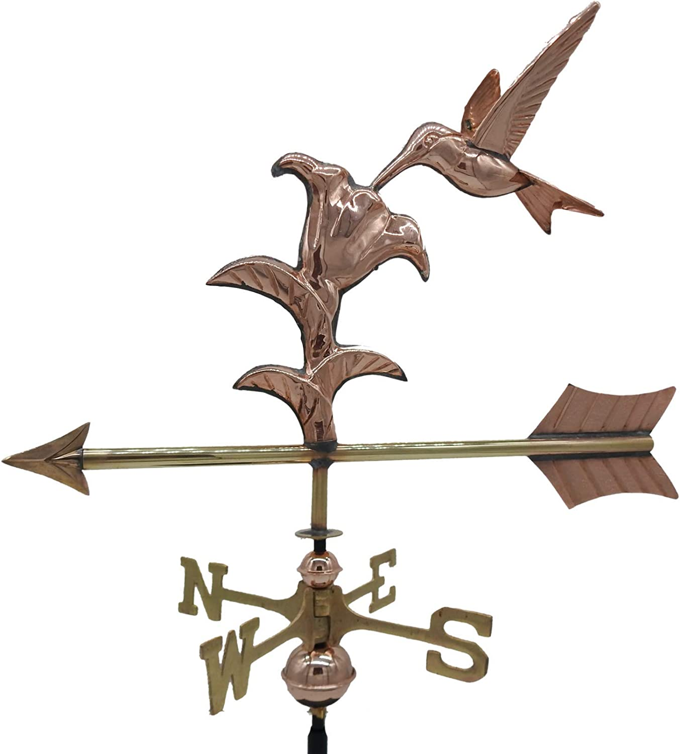 East Coast Weathervanes and Cupolas Striped Bass Weathervane Polished Copper