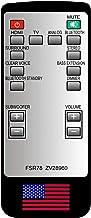 CHOUBENBEN Replacement for Yamaha Soundbar Remote Control FSR78 ZV28960 FITS YAS-106 ATS-1060 YAS106
