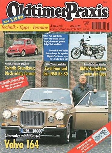 Oldtimer Praxis Nr. 03/2001 Alternative zur S-Klasse? Volvo 164
