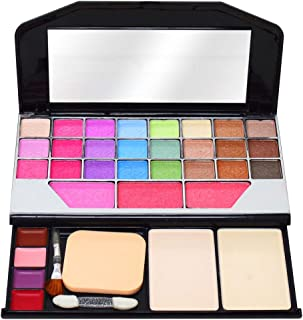 T.Y.A GOOD CHOICE INDIA Makeup Kit, 24 Eyeshadow, 3 Blusher, 2 Compact, 8 Lip Color, (6155), 32g With Hand Cleanser Sanatizer