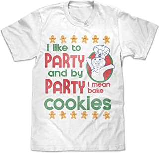 Pillsbury Doughboy I Like to Party T-Shirt, Officially Licensed