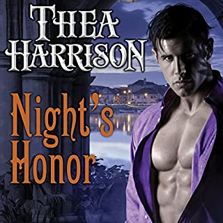 Night's Honor     Elder Races, Book 7              By:                                                                                                                                 Thea Harrison                               Narrated by:                                                                                                                                 Sophie Eastlake                      Length: 9 hrs and 32 mins     1,392 ratings     Overall 4.6