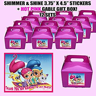 shimmer and shine party boxes