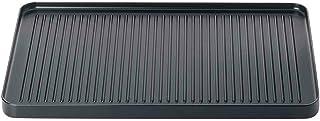 Spring 3267500101 Raclette8 aluminium grillplaat, staal, zwart