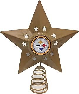 NFL Metal Tree Topper (Variety of Teams to Choose from) (Pittsburgh Steelers)