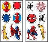 Dekora 231358 - Decoración comestible para magdalenas, diseño de Spiderman