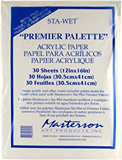 MASTERSON ART PRODUCTS MAS105.1 Palette Seal Acrylic Film Refill for 100