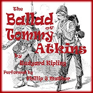 The Ballad of Tommy Atkins audiobook cover art