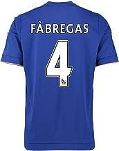 adidas Fabregas #4 Chelsea Home Soccer Jersey 2015