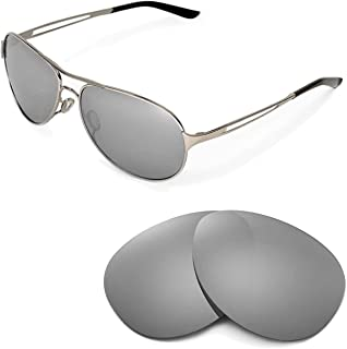 Walleva Replacement Lenses for Oakley Caveat Sunglasses - 6 Options Available